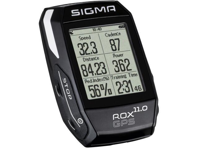 SIGMA SPORT ROX 11.0 GPS Bike Computer set, black